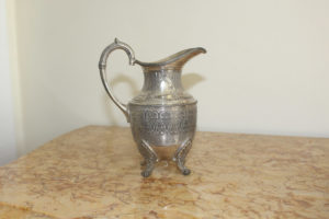 Silver plated French jug : The French Antique Store