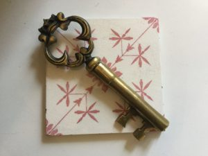French Brass Key Corkscrew : The French Antique Store