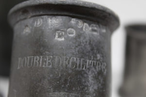 Apothecary Pharmacy Measuring Cups French Toulouse 3 The French Antique Store
