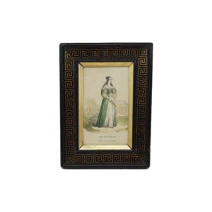 Art Deco Photo Frame Black and Gold The French Antique Store