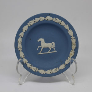 Jasperware Pin Dish Prancing Horse