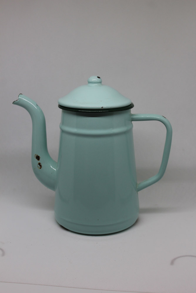 cafetière duck egg blue The French Antique Store
