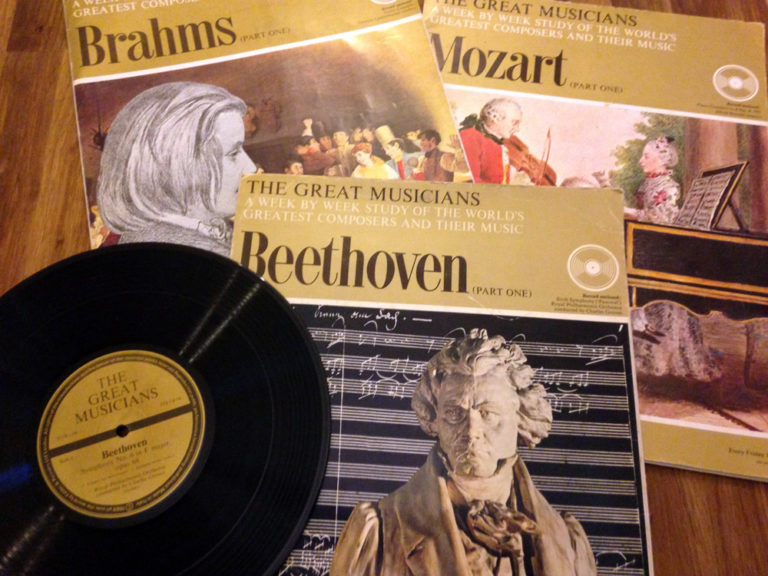 Brahms Mozart Beethoven The Great Musicians Records The French Antique Store 1