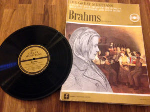 Brahms Mozart Beethoven The Great Musicians Records The French Antique Store 6