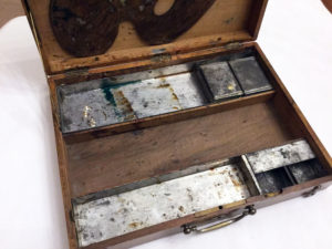 French Artist Travel Box Antique 2