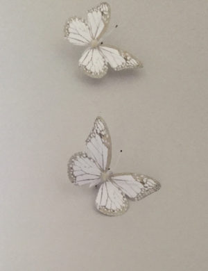 butterflies wall decor art installation escape to the chateau