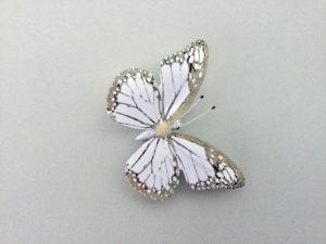card butterflies art installation wall decor