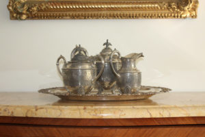 Silver Plated Tea Set : The French Antique Store
