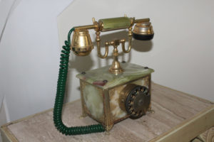 Antique French Telephone : The French Antique Store