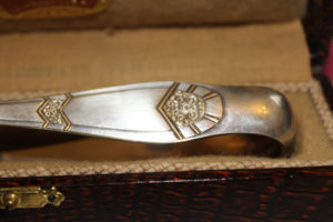 French Art Deco Sugar Tongs : The French Antique Store