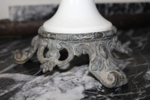 Ornate French Antique Candlestick : The French Antique Store