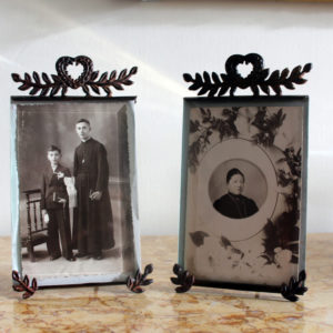 Antique French Photo Frames Beveled Glass : The French Antique Store