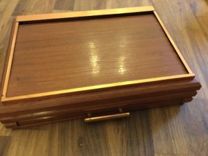 Vintage cigar box : The French Antique Store