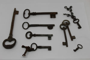 Collection of Antique French Keys The French Antique Store
