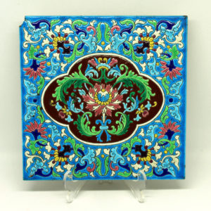 Longwy France 1875-1939 Square Enamel The French Antique Store 1