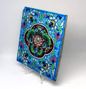 Longwy France 1875-1939 Square Enamel The French Antique Store 4