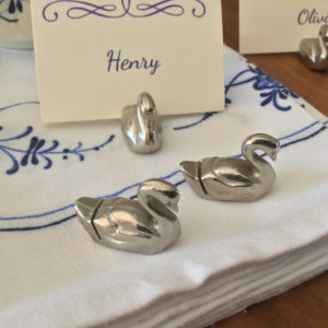 swan name card holder the french antique store 5
