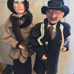French marionettes vintage
