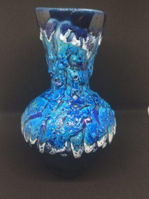 Fat Lava Volcanic Glazed Vase