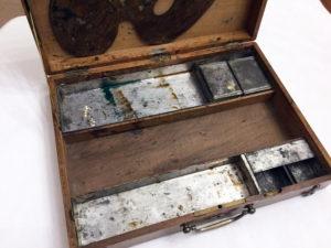 French Artist Travel Box Antique 2