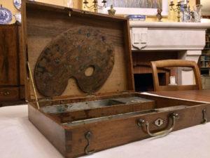 French Artist Travel Box Antique 5