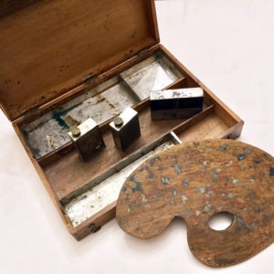 French Artist Travel Box Antique 7