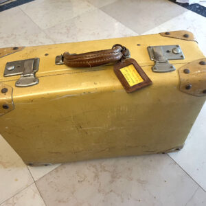 1940s Vintage Suitcase Constellation fibre vulcanisee - the french antique store 1