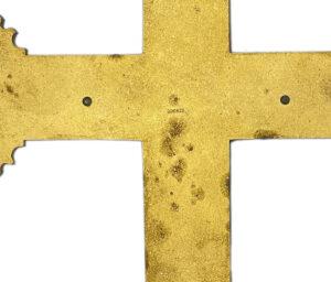 Art Nouveau French religious cross crucifix 2 french antique store