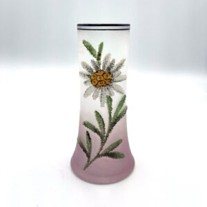 Coralene Bud Vase 1920s Flower Glass Antique