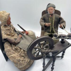 simone jouglas santon provence spinning wheel french antique store 3